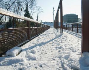 puente nevado